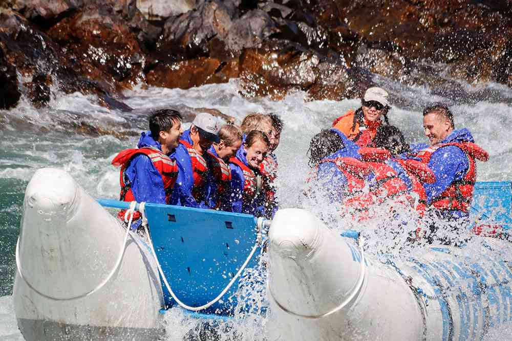 Power Whitewater Rafting with Kumsheen