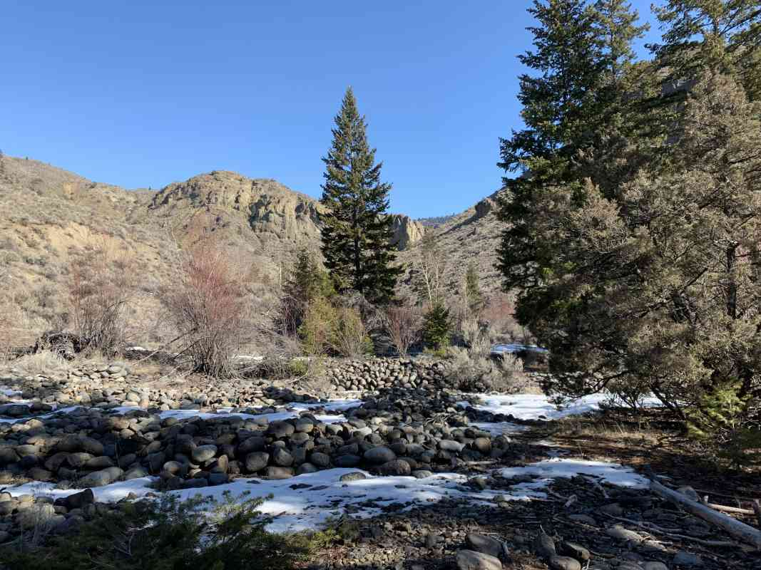 Pre-Season Warm Up: Tranquille River KAMLOOPS (Exploratory Hike)